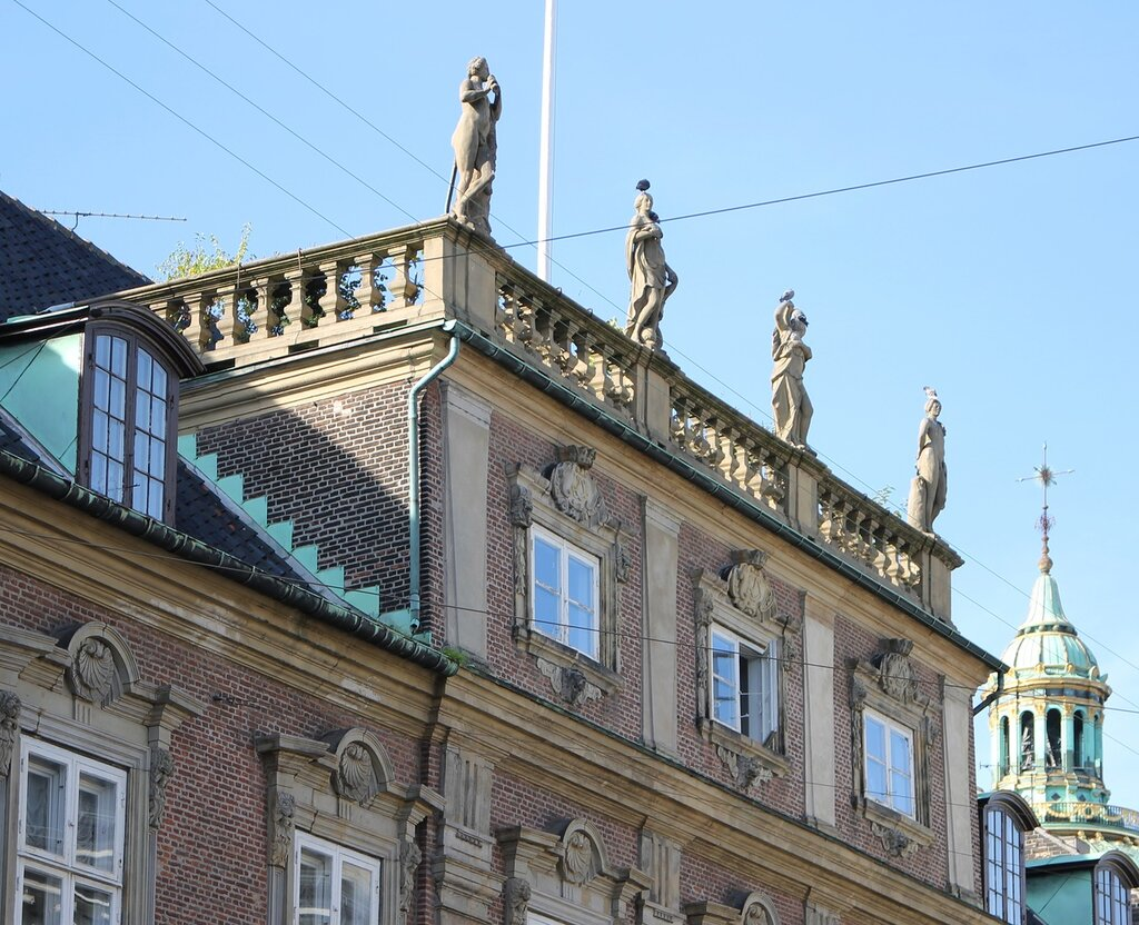 Copenhagen. Mansion of Moltke (Moltkes Palæ)