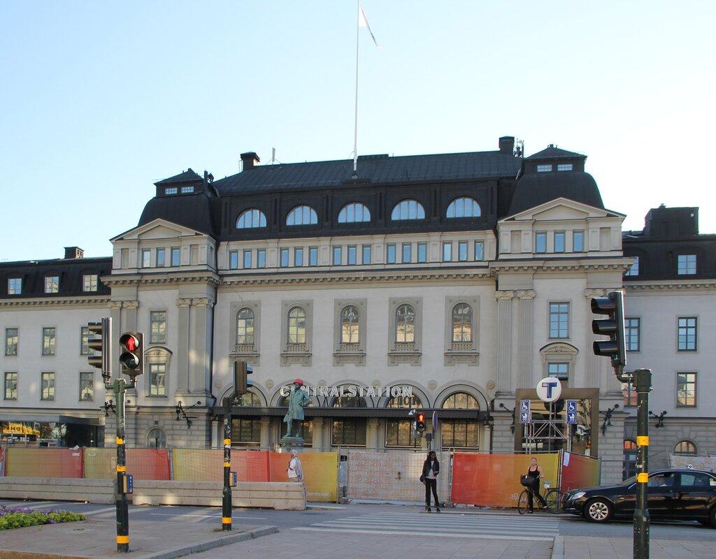 Центральный вокзал Стокгольма. Stockholms centralstation
