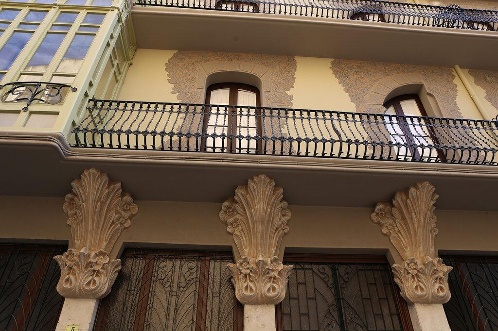 Тортоса. Дом Грего. Casa Grego,Casa Pilar Fontanet