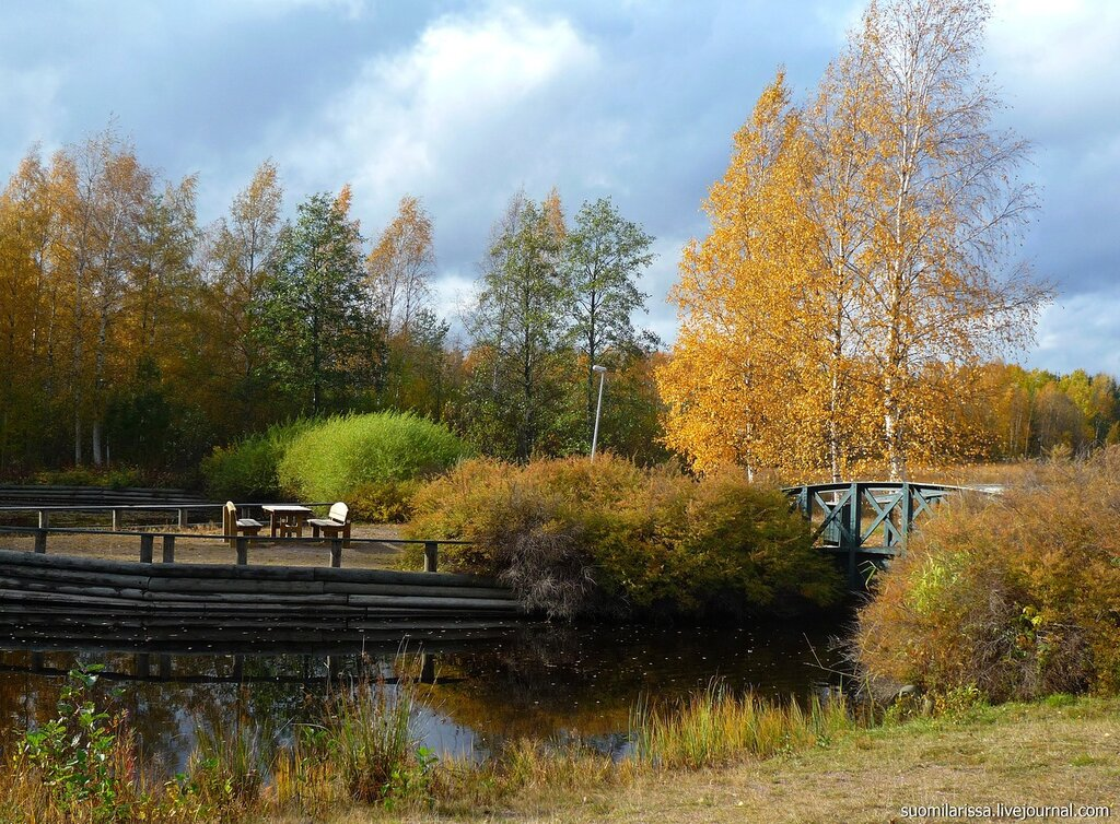 Осень в Южной Финляндии (Утти).