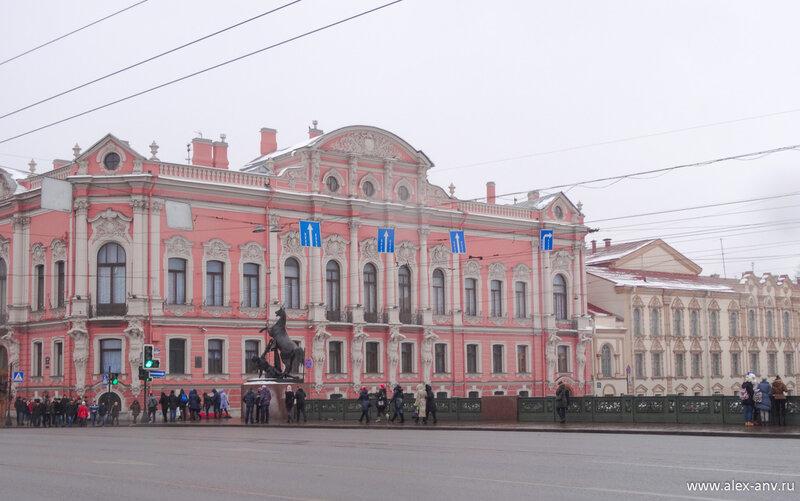 Дворец Белосельских-Белозерских.