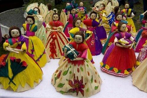 куклы из листьев кукурузы