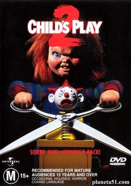 Детские игры2 / Child's Play2 (1990/HDRip)