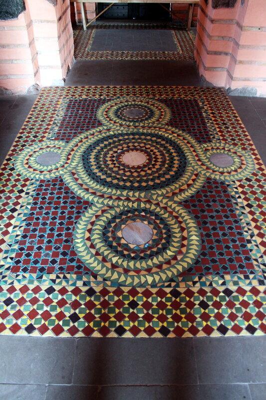Мозаичный пол церкви Благовещения