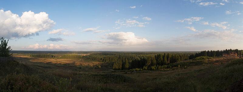 Верхние Кропачи - панорама