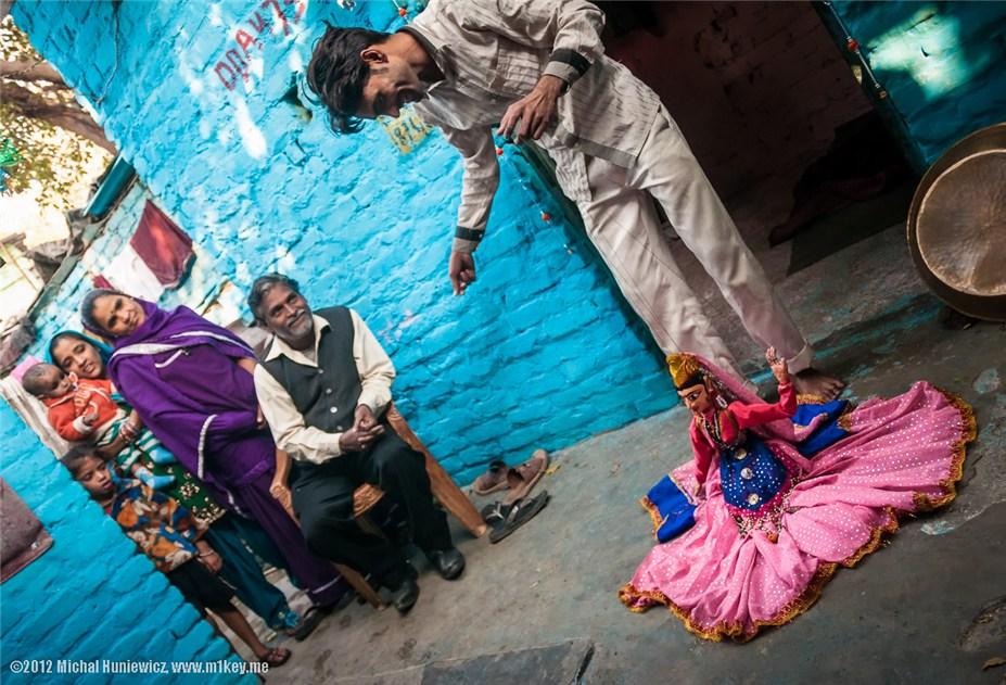 Кукловод - путешествие по Индии / India by Michal Huniewicz