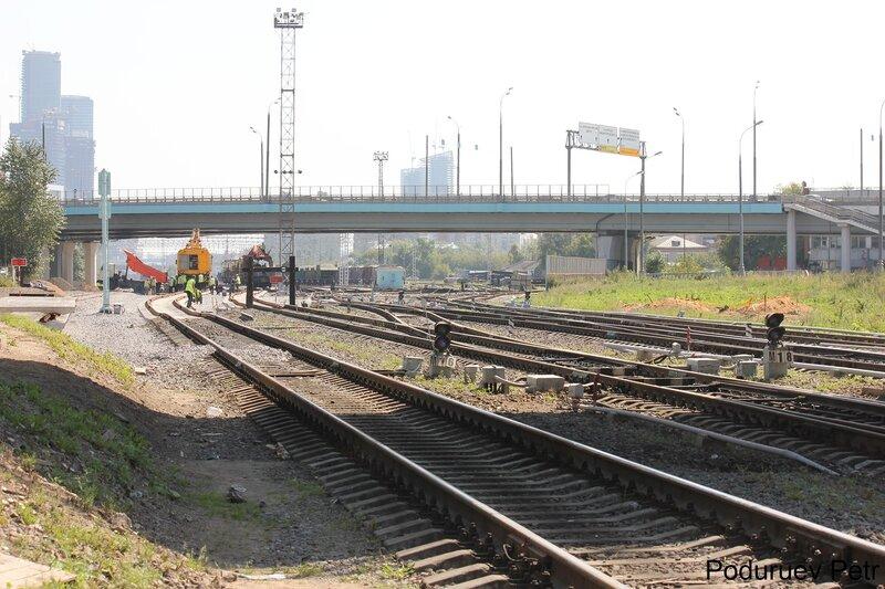 Станция Пресня МОЖД