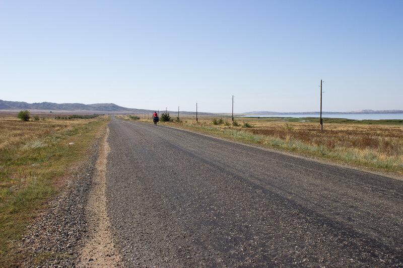 дорога на Курчум