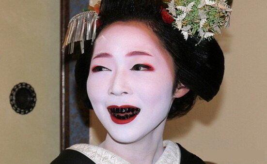 Чернозубые японцы
