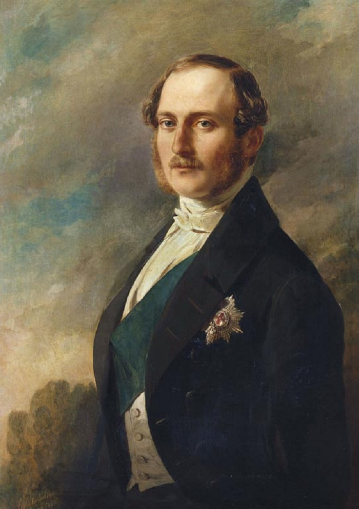 Винтерхальтер (1805-73)Принц Альберт (1819-61)  1850