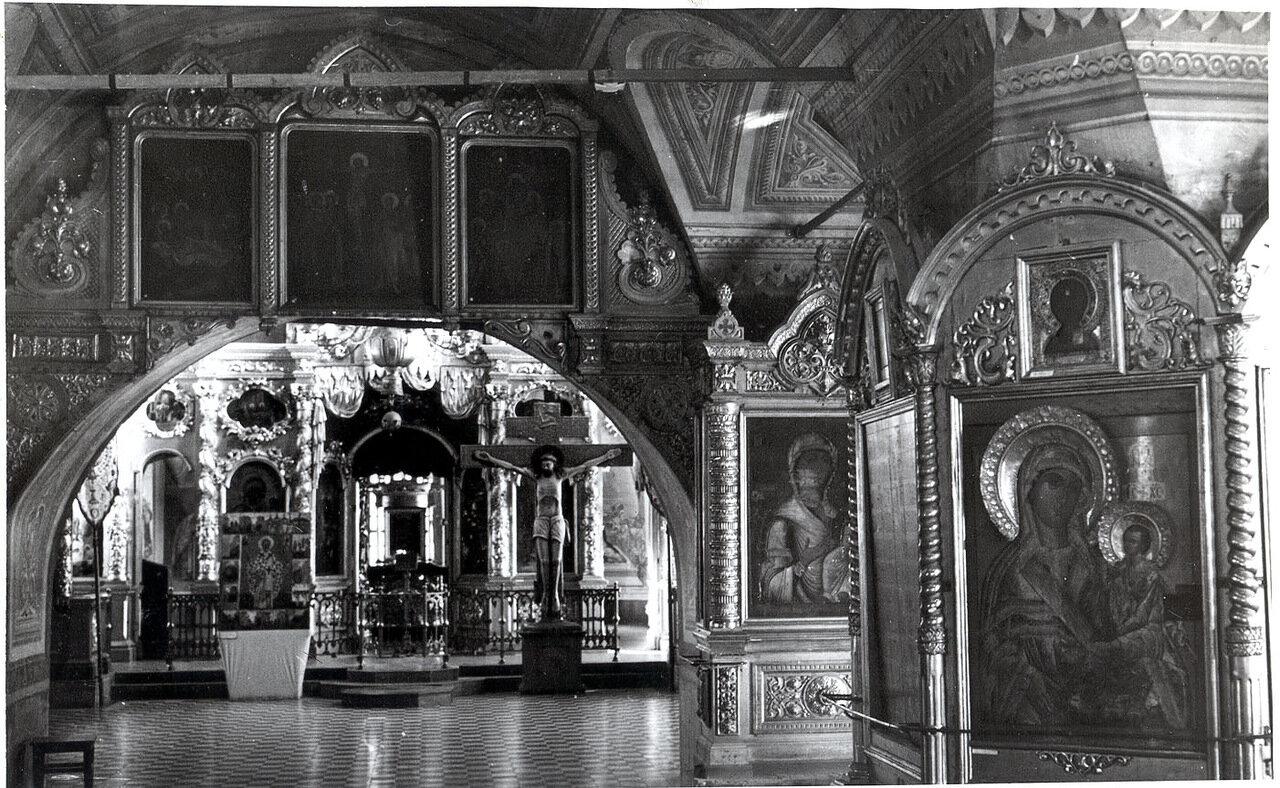 Крестовоздвиженский храм п.Палех (послевоенное время)