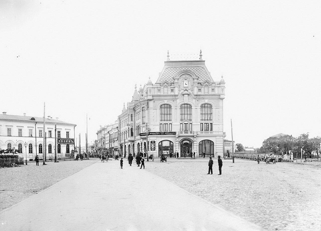 Здание городской управы на Благовещенской площади, 1910-е г.