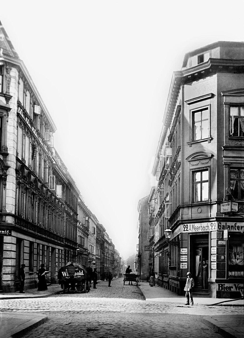 Улица Alte Gasse 1898 год.