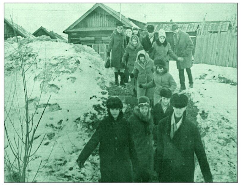 1968.17 марта. Сызрань. Школа № 8. КИД