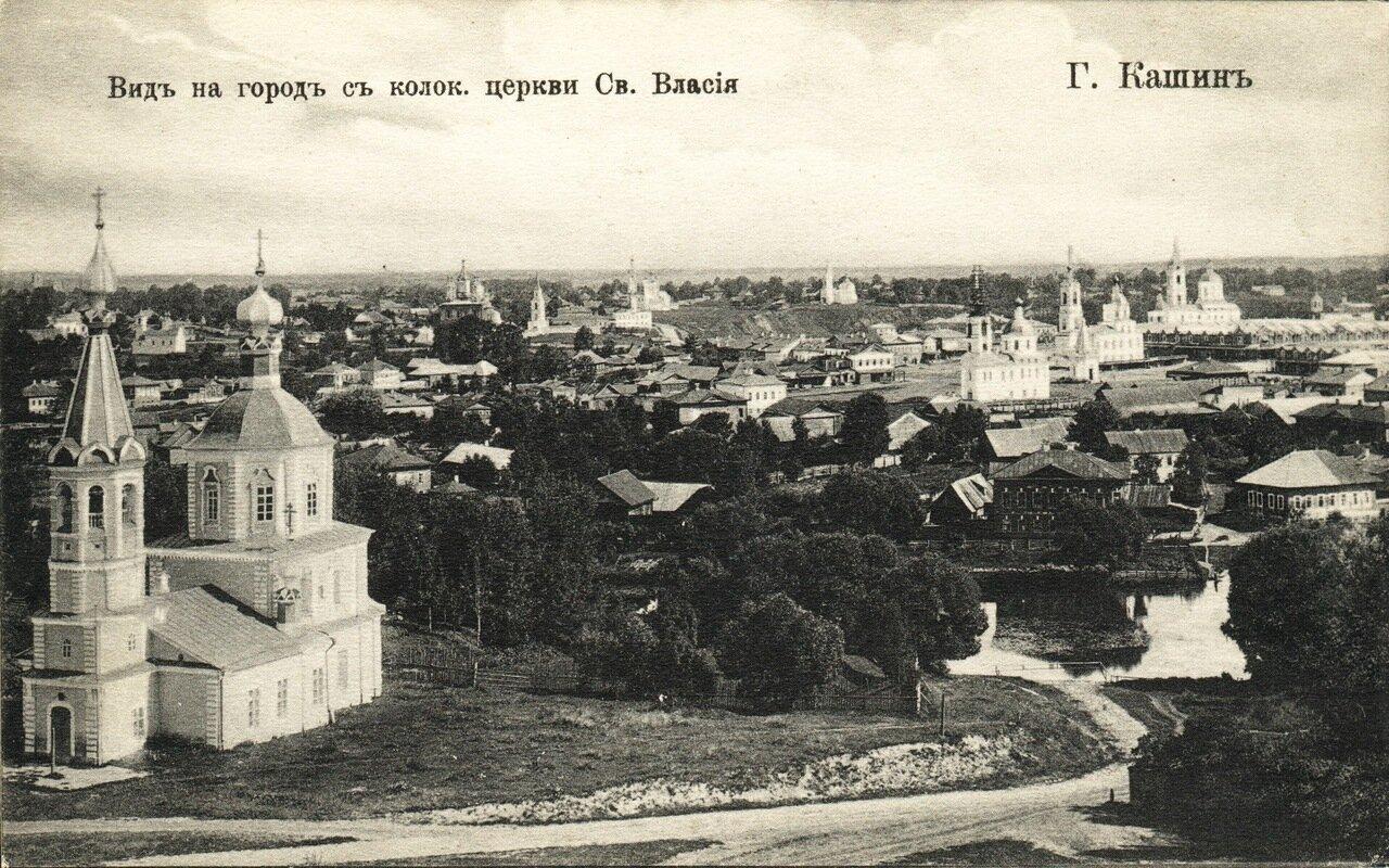 Вид на город с колокольни ц. Св.Власия.