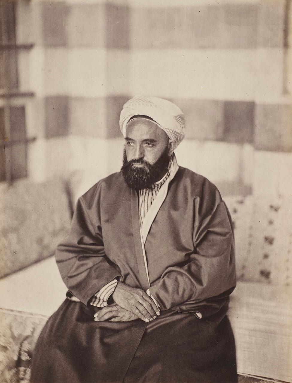 30 апреля 1862. Портрет Абд аль-Кадира, Дамаск