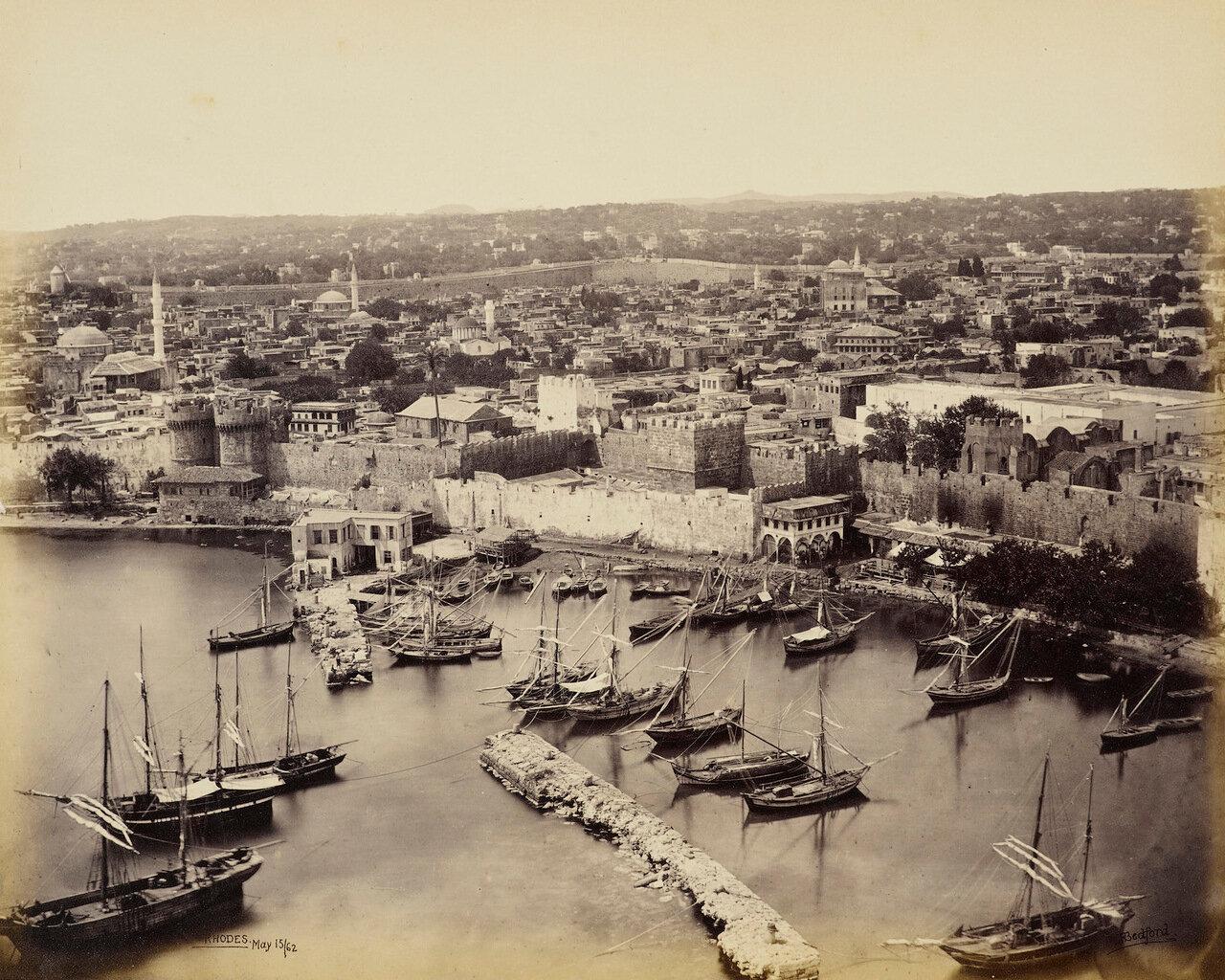 15 мая 1862. Гавани Родоса