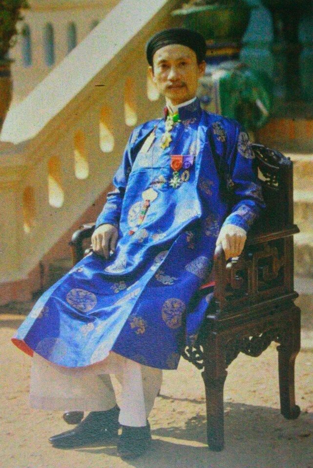 Тонкин. Хоанг Чонг Пу, губернатор провинции Ха Донг в 1914 году