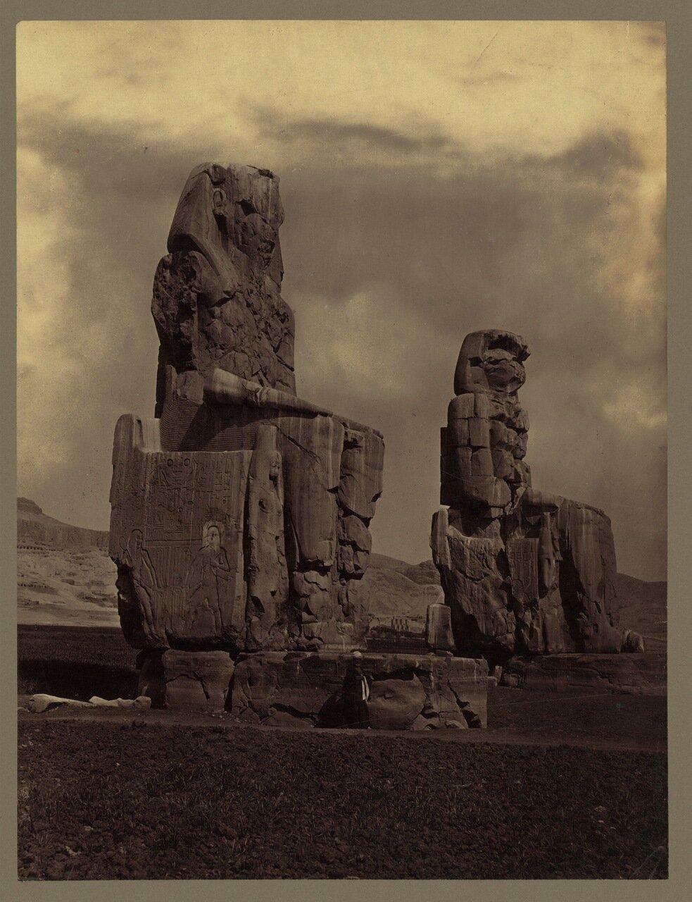 Фивы. Статуи Мемнона