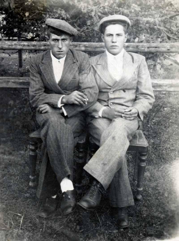 1947, 2 августа. Жители деревни Резанка