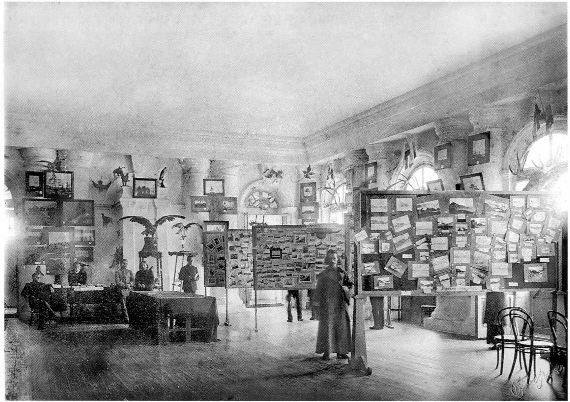 Архангельск. Гостиный двор. На выставке Русский Север. 11 августа 1911