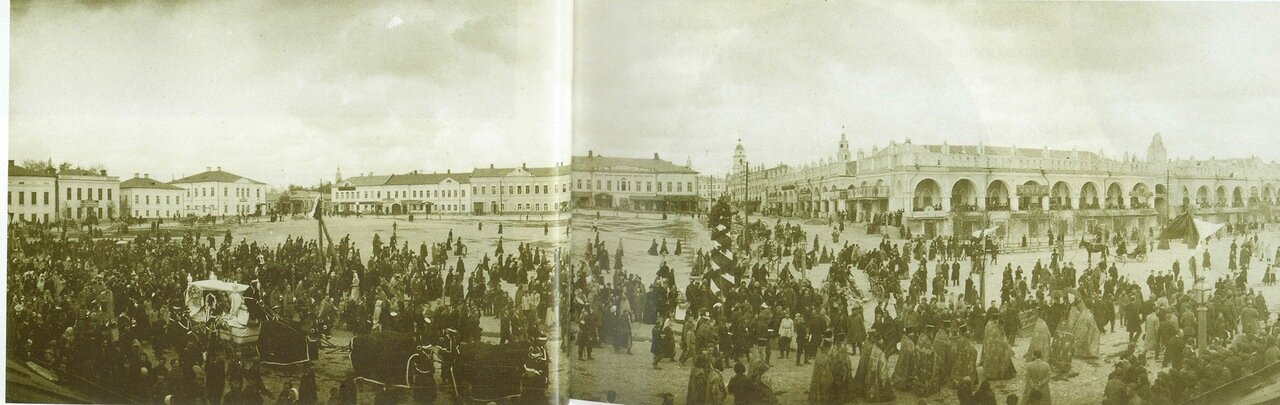 1901. Похороны городского Главы И.К. Цыпулина 12 мая в Калуге