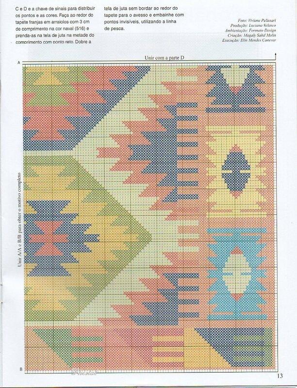 Схема для ковров своими руками