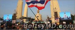 Протесты в Таиланде: на улицы Бангкока направили военных