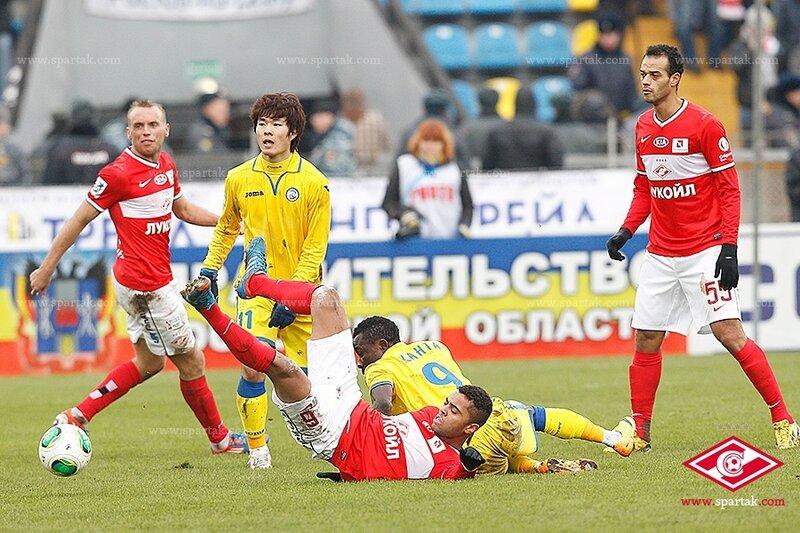 «Ростов» vs «Спартак» 0:1 Премьер-лига 2013-2014 (Фото)