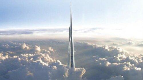 В Саудовской Аравии началось строительство самого высокого небоскреба Kingdom Tower