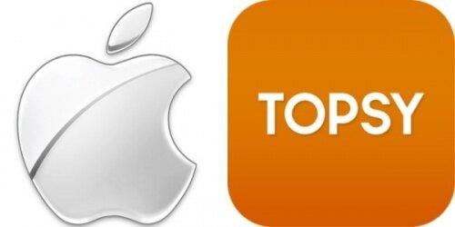 Apple купил поисковик социальной аналитики Topsy