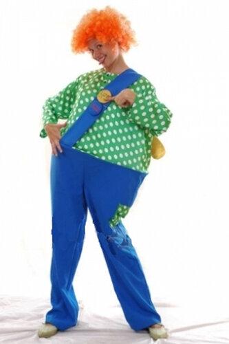 Женский карнавальный костюм Карлсон