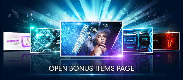 Bonus Items Page