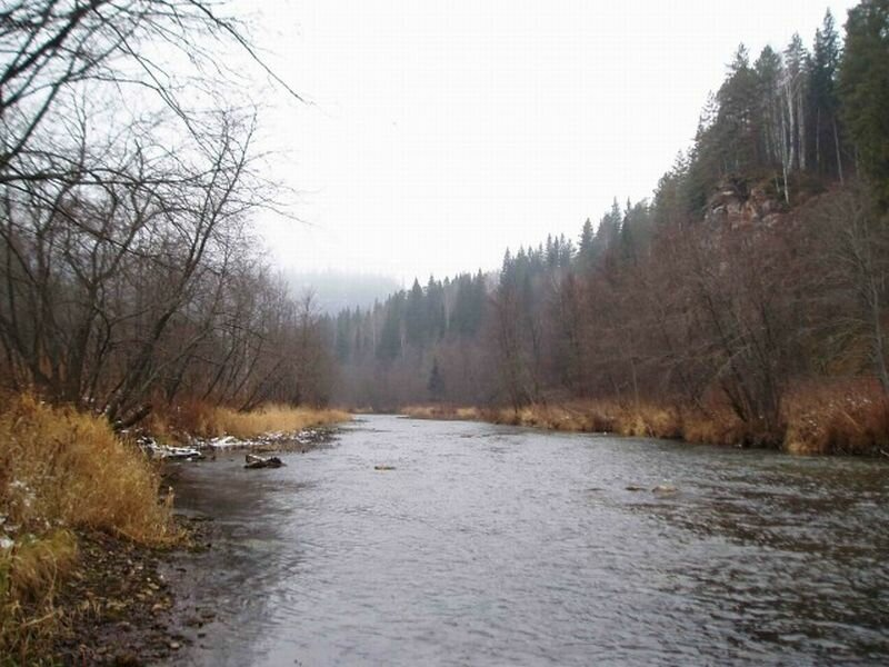 Бурная река Миньяр (28.05.2013)