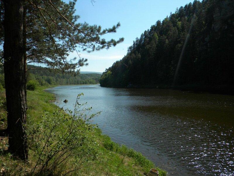 река Ай (19.06.2013)