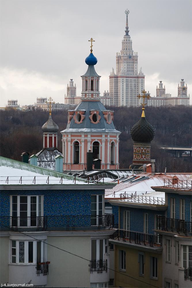 фотопутешествия, фототуризм, фото, Москва, Андреевский монастырь
