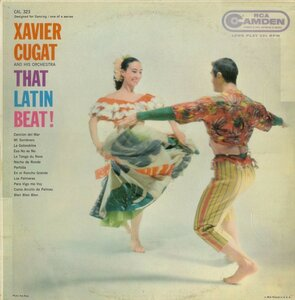 Xavier Cugat And His Orchestra ‎– That Latin Beat! (1959) [RCA Camden, CAL 323]