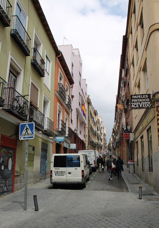 Мадрид. Лавапьес. Улица Сурита (Calle Zurita)