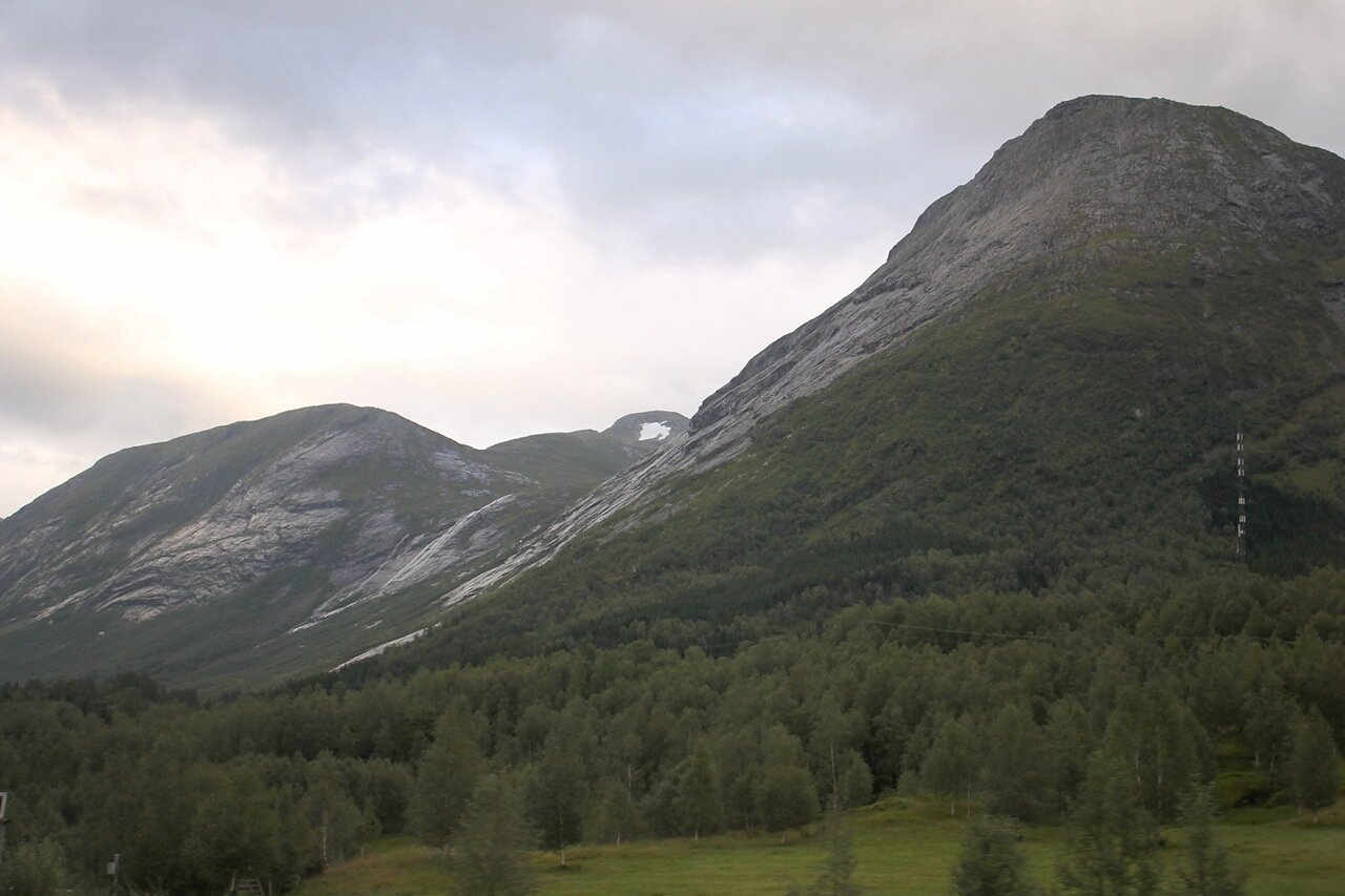 Горы Западной Норвегии. Mountain of Western Norway