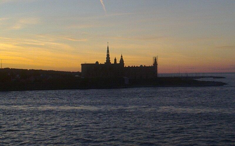 Замок Кронборг. Эльсинор, Гамлет. Kronborg Slot. Kronborg castle.Øresund, Эресунд