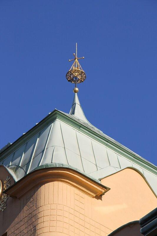 Стокгольм. Дом-музей Августа Стринберга. Blå tornet. August Strindberg museum. Stockholm