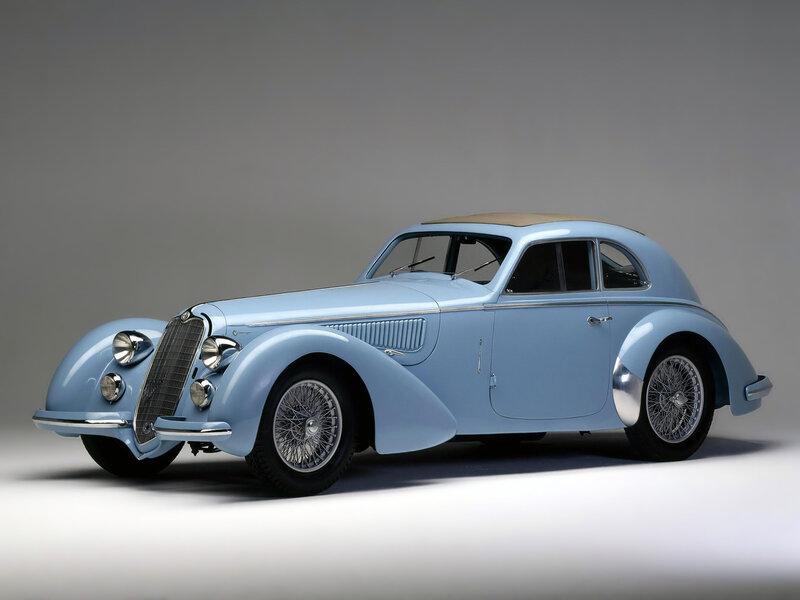 Alfa-Romeo-8C-2900B-Lungo-Touring-Berlinetta-1937 - 1938-1