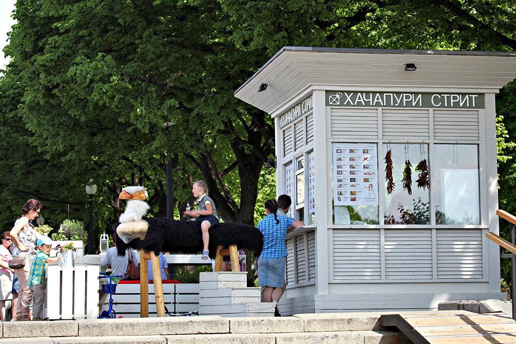 Май в Парке Горького