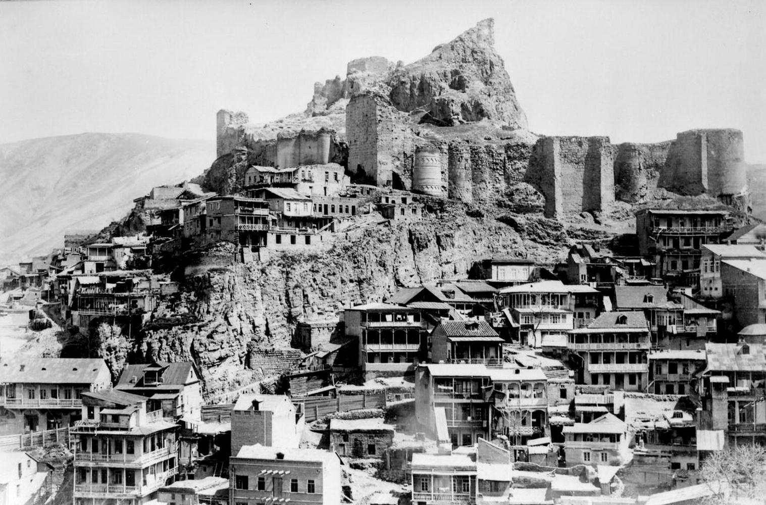 Старые фото и тексты о городе Тбилиси