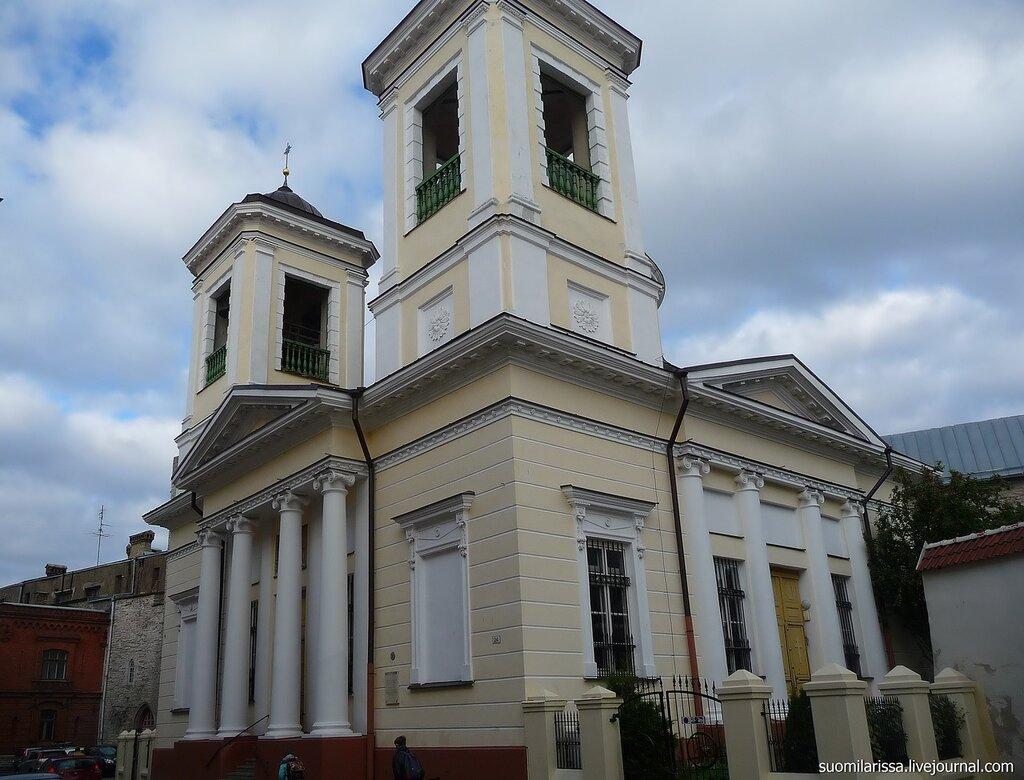 Никольская церквоь.