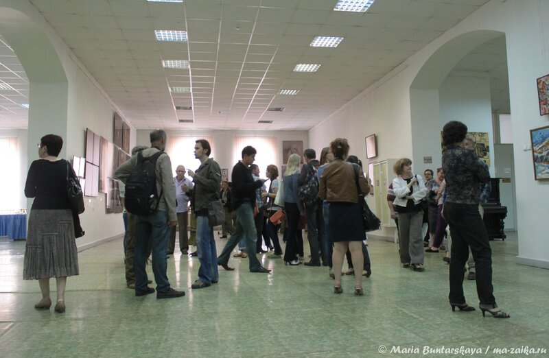 Выставка 'Единое пространство-13', Саратов, художественное училище имени Боголюбова, 21 июня 2013 года
