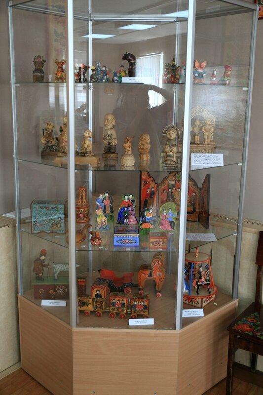 коллекция Жбанниковской глиняной игрушки