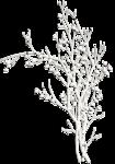 Зимний декор, снег, сосульки