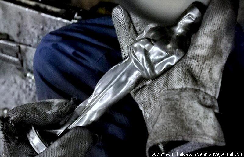 "Как изготавливают статуэтки ""Оскар"""