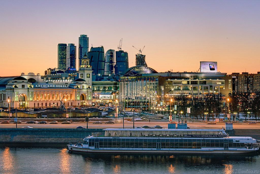 Вид с Ростовской набережной